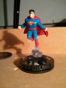 Superman Heroclix mod by avatarswish
