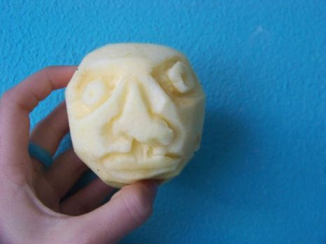 apple face by DanLeno