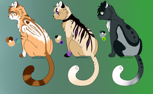 Cat adopts 2 (Closed) by Moonbeams-Adopts