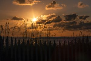 Sunset Royan France by hubert61