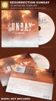 Resurrection Sunday CD Artwork Template by loswl