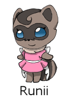 FakEmon Crossing Adopt: Runii by Chaos55t