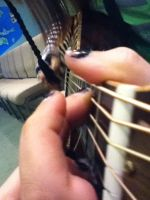 Fingers on the Frets by RavenWing1012