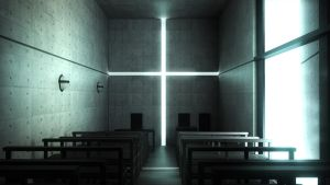 Church of Light in Maya 3d by xxKaustiCxx