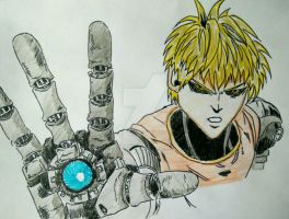 Genos (2 attempt) - One Punch Man by Abuelo92