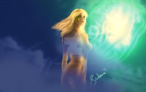 Sunfall (Nude Version) by TheSadaan