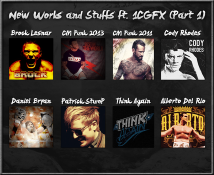 New Collaboration work featuring 1CGFX (Part 1) by HTN4ever