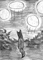 Wolf who dreamed of many moons by wwwwolf