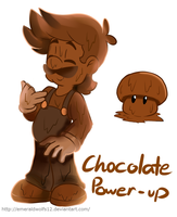 Chocolate power-up by MariobrosYaoiFan12