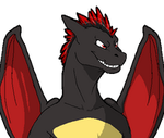 Talksprite- Pyyros the Charizard by CowSprite