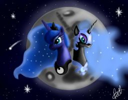 The mare in the moon by Vet2B