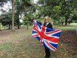 Axis Powers Hetalia cosplay - gakuen!fem!England by vainpires