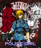Police Girl Color by BladeofGoth