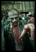 The Zombie Attack I by atiratha