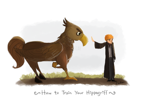 How to Train your Hippogriff by nahsiah