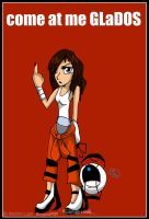 How Chell respond by BunnyGirl-666
