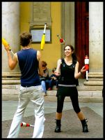 Milan, city of jugglers by siralbus