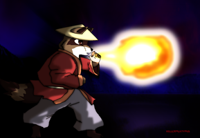 ol' Fireball by killerplatypus