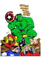 Hulk Wins by LostonWallace by LittleOrphanAwesome