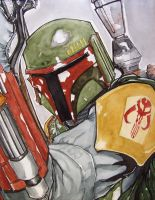 Boba Fett by mjfletcher