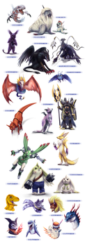 Digimon compilation by XMaveria