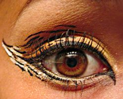 Tiger Make-Up by HelloJazzelle
