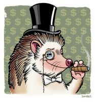The Classiest Hedgehog by D-MAC