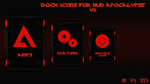 Dock Icons for HUD Apocalypse V2 by 9LWANE