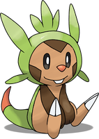 Chespin by Night-Wolf122