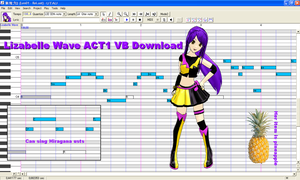 UTAU Lizabelle Wave voicebank download by brsa