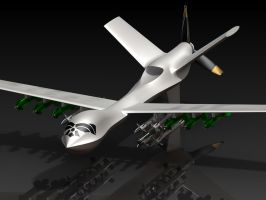 MQ-9 Reaper Drone by Comradepeter