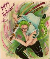tiger zoro by purple-mike-elf