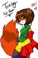 Tomboy Red Panda: Improved by Erythrine