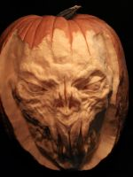 Pumpkin carving 3 by Cissell