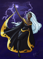 X-Men: Power of the Storm by lethalfairy