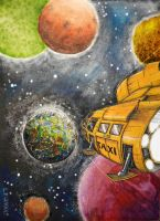 space taxi by croustipote