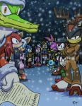 Sonic - Christmas 2011 by Tigerfog