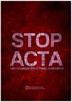STOP ACTA by SpEEdyRoBy