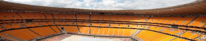 Soccer City panorama by BlackTechnicolor