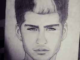 zayn malik sketch by ygine