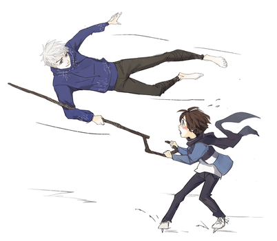 Jamie learns how to skate by SilentSeven