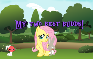 My two best buddies:) by Flutterflyraptor