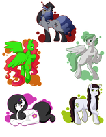 Art Trade Batch 02 by quila111