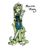 Mizuna the Forest Nymph by ask-cyclone