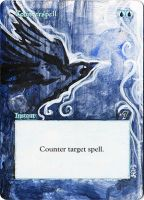 Magic Card Alteration: Counterspell 7/3 by Ondal-the-Fool
