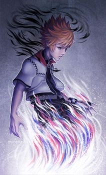 Roxas by munette