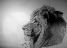 Here Comes A Lion, Father by BrittanyAnnxOx