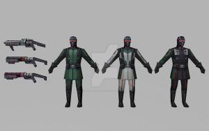 Hydra Soldiers (3D Models MFF) by Pitermaksimoff
