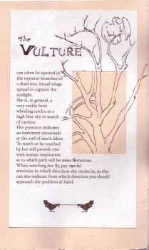 Vulture, from the Compendium by teriathanin