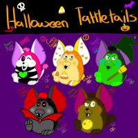 TattleTail's (Halloween Edition) by YaoiLover113